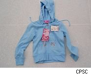 CPSC recalls sweatshirts with drawstrings