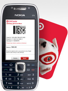 Target lets you carry gift cards on your cell phone - AOL Finance