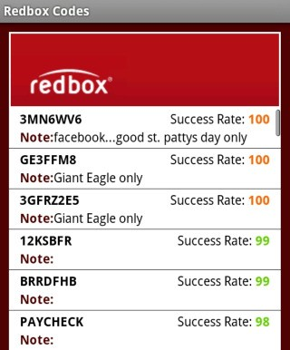 Save with redbox promo codes and coupons for December Today's top redbox offer: Free 1-Day Movie Rental or $ off Blu-Ray. Find 4 redbox coupons and discounts at staffray.ml Tested and verified on December 04, %(6).