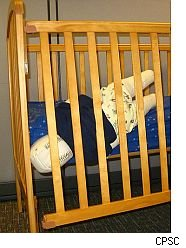 CPSC demonstrates dangers of Simplicity cribs