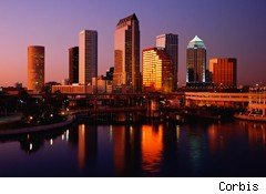 Tampa Florida Tops List of cheapest U.S. large cities to do business in