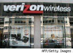 Verizon Wireless 4G network