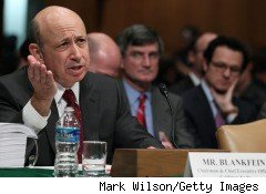 As news of the SEC's filing of civil fraud charges against Goldman Sachs surfaced, the meter was already running on the legal bills. Goldman CEO Lloyd Blankfein is shown here in recent testimony before Senate investigators.