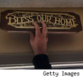Bless our home sign: Fannie Mae survey says Americansfavor home ownership