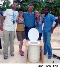 Humanure composting toilet