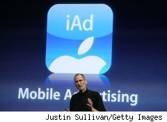 Apple declared war on Google's mobile advertising ambitions Thursday, introducing the iAds system, in the latest sign that the increasingly bitter rivalry between the two companies is intensifying