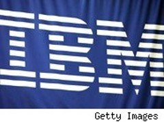 Investors are betting on IBM in advance of its earnings report Monday.