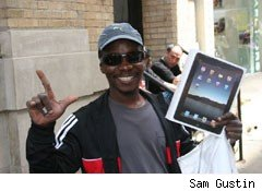 New York buyer on Apple's iPad release day
