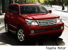 Toyota Set to Recall Lexus GX 460 SUV for Rollover Issue