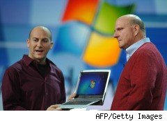 Microsoft earnings CEO Steve Ballmer