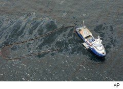 Gulf oil spill BP cleanup effort