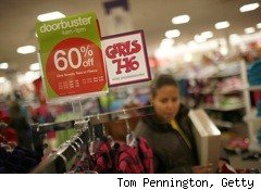 J.C. Penney Co. (JCP) vowed to investors it will grow sales in 2010 and increase its annual earnings fivefold over the next five years.