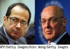 They look nothing alike, act nothing alike and are not related. Yet in the minds of many investors and members of the business press, they are forever linked by their shared family name: Paulson.