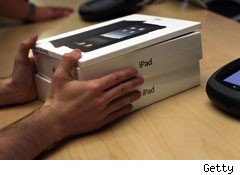 Apple iPad delayed international