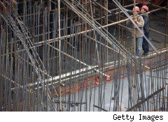 Chinese construction workers