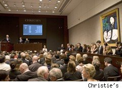 christie's auction of picasso