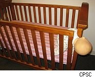 CPSC issues drop-side crib hazard warning