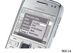 Microsoft Communicator Mobile Nokia E72