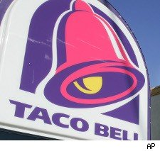 Taco Bell logo for free limeade