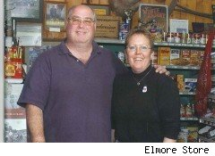 Elmore Store owners Warren and Kathy Miller are elated that the Senate passed legislation that could limit the swipe fees they pay with each credit-card and debit-card transaction.