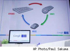 Google demonstrates Google TV