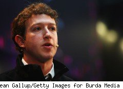 Facebook CEO Mark Zuckerberg, age 26