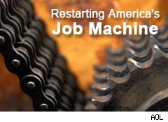 Restarting America's Job Machine, stimulus funds help workers retrain