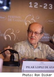 advice from 101-year-old director Manoel de Oliveira