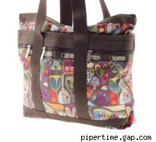 LeSportsac small travel tote
