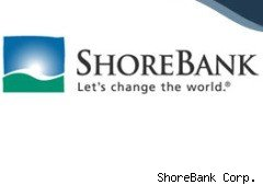 ShoreBank Corp., a small Chicago-based bank whose mission is to save the world, today reportedly raised $150 million from a group of large financial services firms including Goldman Sachs Group, GE Capital and Citigroup