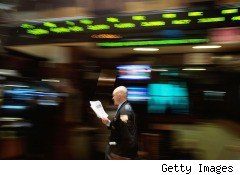 Trader on NY Stock Exchange