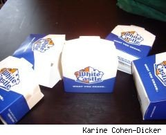 White Castle sells candles