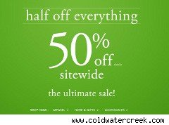 coldwater creek coupon