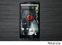 Verizon and Motorola announced the Droid X on Wednesday, a day before Apple's iPhone 4 launch.