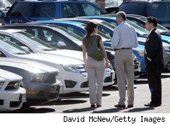 December Auto Sales Projected to Hit Highest Levels of 2010
