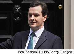 British Chancellor of the Exchequer George Osborne