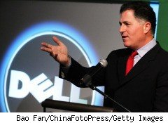 Michael Dell, founder and CEO of computer maker Dell Inc.