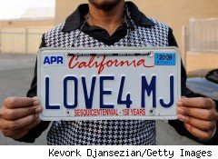 California is considering electronic license plates to generate revenue