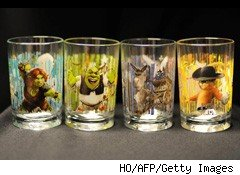 Shrek glasses