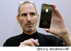 iphone and steve jobs