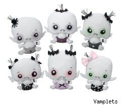 Sucking up to the Twilight trend: Baby vampire dolls