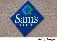 Sam's Club sign