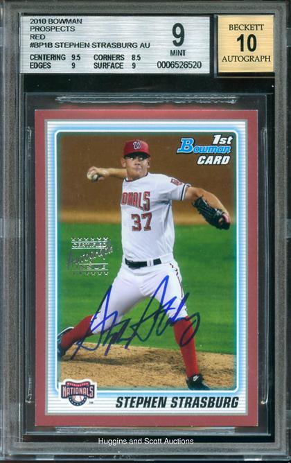 Why Stephen Strasburgs 40000 Rookie Card Is A Bad