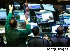 traders on NY Stock Exchange