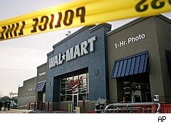 Walmart where employee was stampeded