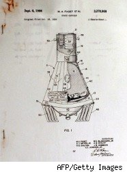 Patent for Mercury capsule