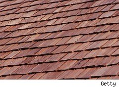 Roof shingles photo to illustrate American Shingle & Siding problems