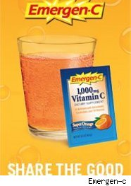 Emergen-C vitamin powder