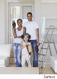 Family prepared to remodel home