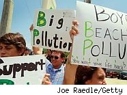 BP oil spill protest